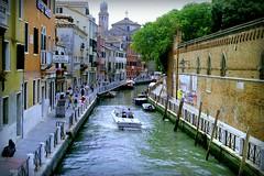 Venice (Jurek.P) Tags: wenecja venice canal cityscape italy włochy kanał architecture woda jurekp scan 35mm minoltadynax7000i 1999 city