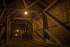 Auf der Holzbrücke (uhu's pics) Tags: architektur swiss schweiz emmental brown braun lowkey key low dark dunkel blue blau orange holz construction konstruktion wood bridge brücke 16mm fujinon xp2 xpro2 xpro fujifilm fuji