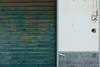 Half a door... (zapperthesnapper) Tags: sonyrx10 sonyimages sonycybershot sony abstract minimalist minimalistic minimal garagedoor door