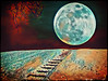 Alternate Reality (LotusMoon Photography) Tags: surreal abstract fullmoon dreamscapes dreamlike annasheradon lotusmoonphotography postprocessed colorful photomanipulation
