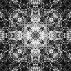 0490917627 (michaelpeditto) Tags: art symmetry carpet tile design geometry computer generated black white pattern