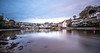 Noss Mayo (NikNak Allen) Tags: nossmayo newtonferrers devon water sea low houses sky clouds longexposure light boats reflection seaweed village