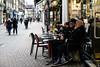 Watching people people watching (PChamaeleoMH) Tags: bleachbypass cafe carnabystreet centrallondon colorefexpro4 london nik people whiteneutralizer