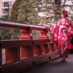 The Kimono Girl - Tokyo, Japan - Color street photography thumbnail