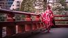 The Kimono Girl - Tokyo, Japan - Color street photography (Giuseppe Milo (www.pixael.com)) Tags: photo buddhist street city temple girl woman candid streetphotography tokyo photography urban style japanese geotagged kimono japan pagoda taitōku tōkyōto jp onsale