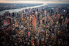 Empire State Building (Terry Moran Photography) Tags: new york city ny nyc big apple nikon d810 nikkor usa flynyon empire state building manhattan helicopter birds eye view sky skyline landscape cityscape structures
