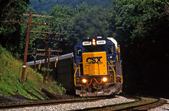 CSX0893 (ex127so) Tags: csx sideling hill wv 2003 sd402