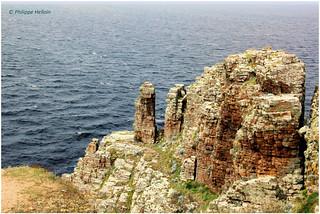 le granite au ©  Cap Frehel
