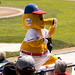 Goldie is the mascot of the Winnipeg Goldeyes baseball team