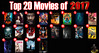 Top 20 Movies of 2017 (AntMan3001) Tags: top 20 movies 2017