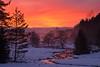 Zeitelmoos (Jürgen Mayer) Tags: zeitelmoos hochmoor bayern bavaria fichtelgebirge natur nature landschaft landscape winter schnee snow bach brook creek sonnenuntergang sunset pentax tamron tamron281750 pentaxart pentaxlife