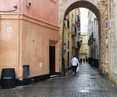 Cadix (hans pohl) Tags: espagne andalousie cadix villes cities rues streets architecture arcs houses maisons personnes people