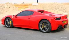 Ferrari (Saul Tevelez) Tags: arad israel canon saultevelez canoneos6d ef70200mmf28lisiiusm rojo red auto car ferrari 458 ferrari458italia