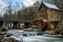 A Glimpse of Antiquity (scottymanphoto) Tags: historicplace landscape danese woods water state grain wooden winter stones snow nature trees creek west 1900s virginia ice bridge scenic architecture outdoors morning america grist sky wheel wood early tranquil fence longexposure flumes flume old wv stream isolated vintage tranquility clouds outside rocks millwest snowlife blurred country scenery beautiful culture forest natural history babcock park usa tourism glade mountain
