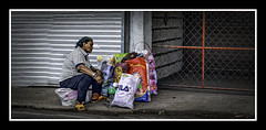 The Streets of Manila - Living on the Street Alone - Philippines (BELZ'S WORLD) Tags: the streets manila living street alone philippines