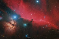 IC434 Nébuleuse de la tête de Cheval (Uwe Kamin Photography) Tags: ciel ic ngc espace nocturne astronomy astronomie dark sky messier