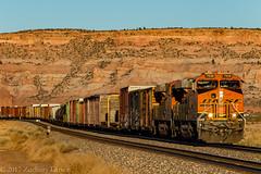 BNSF 7938 West: Lupton, Arizona (Z-Trains) Tags: bnsf arizona seligman subdivision sub apache railroad apacherailroad seligmansubdivision northernarizona trains train alco mlw c420 c424
