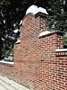 M Kirby Hosp (Allen F. Moore Estate) c1912 Brick Fence, 1111 N. State St, Monticello, IL 20170731-19 (RLWisegarver) Tags: piatt county history monticello illinois usa il