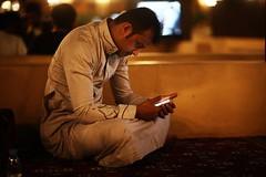 HALF TIME (N A Y E E M) Tags: ayoub relative candid portrait night availablelight atmosphere abutarboosh medina almadinah ksa saudiarabia