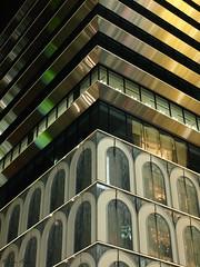Modern architecture in Ginza (DameBoudicca) Tags: tokyo tokio 東京 japan nippon nihon 日本 japón japon giappone ginza 銀座 night natt nacht notte nuit noche 夜 architecture arkitektur modern