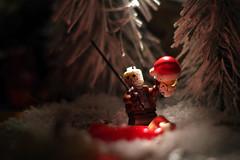 the jason christmas (filipposartoris) Tags: snow ice natale lego blocks brick albero orso neve christmas santa claus north pole xmas jason horror