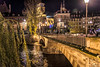Bridge to Old Strasbourg (Tony_Brasier) Tags: river rocks raw road trees town nikond7200 sigma 1750mm church france cold location lovely
