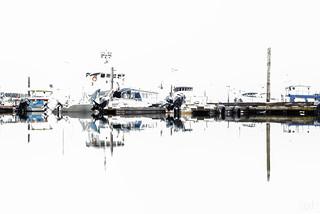 Sitka marina blown out