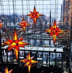 Columbus Circle, New York. iPhone6