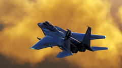 Refueling_4 (The_SkyHawk) Tags: world f15 eagle usaf refueling air force dcs digital combat simulator flight flying jets aviation virtual flightsim
