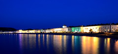 Welsh Riviera (Llandudno) (Peter.S.Roberts) Tags: interestingness interesting llandudno night summer reflections longexposure buildings hotels promenade wales architecture conwy conwyborough lights lighting illumination blue bluehour sea water beach seascape landscape seashore seaside irishsea northshore shoreline colours colourful quiet peaceful serene tranquil relaxing beautiful still calm panoramic depthoffield pov perspective beachscene scenic warm evening nightscene inviting flickr peterroberts photographyvision fotografíavisión