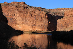 Colorado River (arbyreed) Tags: arbyreed landscape redrock coloradoriver sr128 moab riverroad sandstone water river cliff grandcountyutah sedimentaryrock castlecreek grand county utah reflection