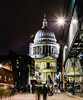 St. Paul's Cathedral (Koupal D) Tags: stpaulscathedral london lights manfrotto nikon2470mmf28 nikond610 nikon nightphotography nightshot night photography building city longexposure streetlights people lensflare