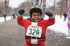 The Gun Show (Rudy Malmquist) Tags: whoville running race grand rapids michigan winter snow santa red costume muscles child boy