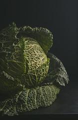 Green&Black (Inka56) Tags: greenblack crazytuesdaytheme 7dwf kale vegetables