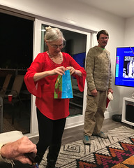 032 Carol's Ill-gotten Gains (saschmitz_earthlink_net) Tags: 2017 california southerncaliforniagrotto christmasparty losangelescounty baldwinhills windsorhills party climbing practice