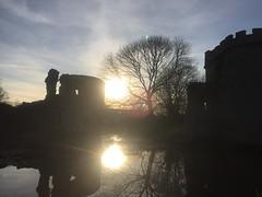 IMG_8790 (dazevanson) Tags: whittingtoncastle whittington shropshire england uk reflextion sunset