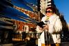 (Michelle Rick) Tags: street streetphotography sp nyc greenwichvillage washingtonsquarepark arch aiweiwei reflection fifthave december 2017 portrait empirestatebuilding tourist