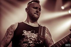 Infernal War - live in Warszawa 2017 fot. Łukasz MNTS Miętka-35
