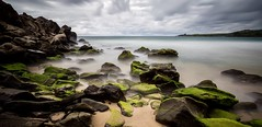 Moss and Mist (WVTROUT) Tags: soe twop beautiful mysterious dramatic ghost serene moody shore cloud clouds sky 1635mm wideangle landscape canon cliffs cliff moss rocks rock google longexposure le waves water coast beach maui hawaii