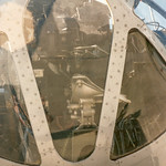 B-29A Bomb-aimer's transparency, Norden bomb sight CAF Fifi 95-14-14Ax thumbnail