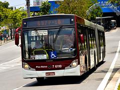 7 6110 Viação Gatusa Transportes Urbanos (busManíaCo) Tags: viaçãogatusatransportesurbanos caio mondego ha mercedesbenz o500ua