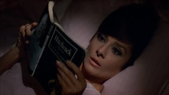 "Audrey Hepburn, Reading Hitchcock Book, ""How to Steal a Million"" (1966) (classic_film) Tags: audreyhepburn howtostealamillion 1966 sixties 1960s actress hollywood france film movie entertainment celebrity ephemeral nostalgic nostalgia old beauty beautiful cine cinema comedy romance romantic woman retro vintage classic clothes clothing pretty elegant prettygirl mujerbonita hübschesmädchen hübschefrau niñabonita hair hairstyle fashion color wardrobe glamour style frau schauspielerin actriz mujer aktrice actrice película añejo época clásico brunette atriz schön kleidung ropa lady jahrgang alt oll book"