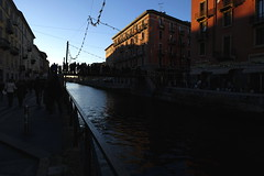Milano 219 (carlo612001) Tags: milano vecchiamilano naviglio navigliogrande italia italy milan light colors sunset ngc