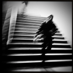 the stuff nightmares are made of (Albion Harrison-Naish) Tags: sydney newsouthwales australia sydneystreetphotography streetphotography albionharrisonnaish blur motionblur blurwillsavetheworld iphone4 iphone hipstamatic iphoneography mobilephotography johnslens blackeyssupergrainfilm unedited straightoutofcamera sooc