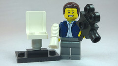 Brick Yourself Custom Lego Figure Happy Film Director