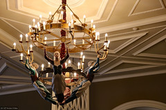 Chateau Lake Louise chandelier (Canadian Pacific) Tags: lake louise hotel fairmont alberta canada canadian banff national park lakelouise 111 drive chateau 2017aimg0361 lakeview lounge restaurant chandelier deer ankler design inspired inspiration