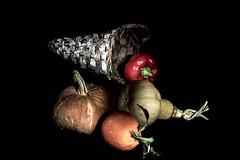 cesto zucche ed arancia (defci) Tags: cesto naturamorta frutta verdura natura