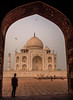 Taj Mahal (Nathan McClatchey) Tags: taj mahal agra india up uttar pradesh tomb architecture design love travel coffin mosque birds nature city life sunrise dawn morning light nikon d5100 adventure thrill landmark iconic building hindi