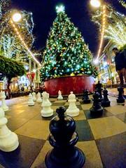 X'mas Chess (tourtrophy) Tags: christmas chess christmastree santanarow sanjose googlepixel2xl androidphotography