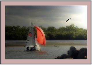 Orton boat framed